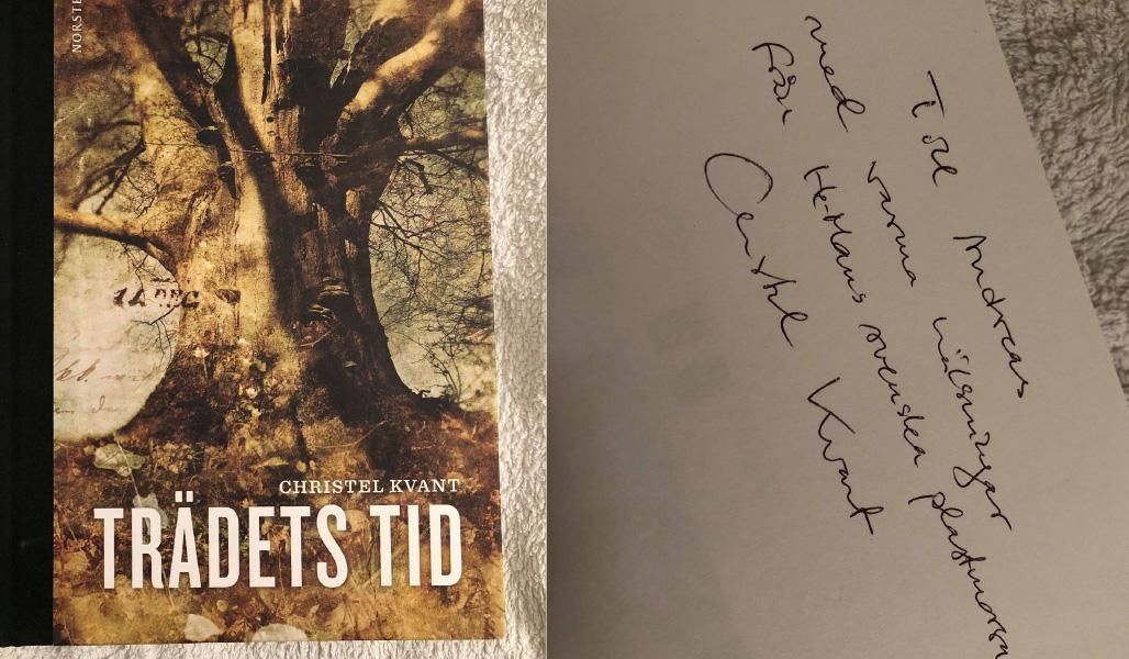 Signerad kopia av Trädets tid av Christel Kvant